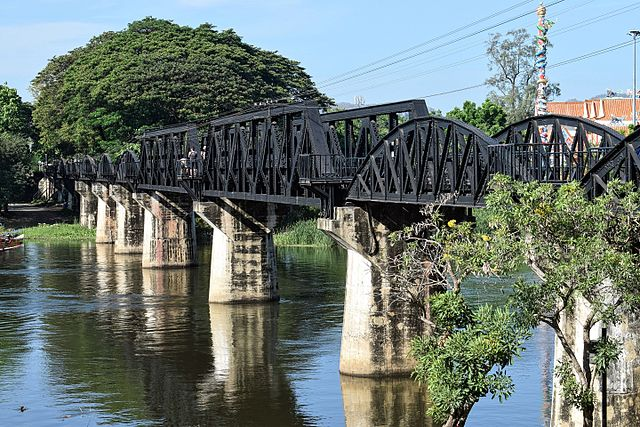 Destinations - River Kwai bridge