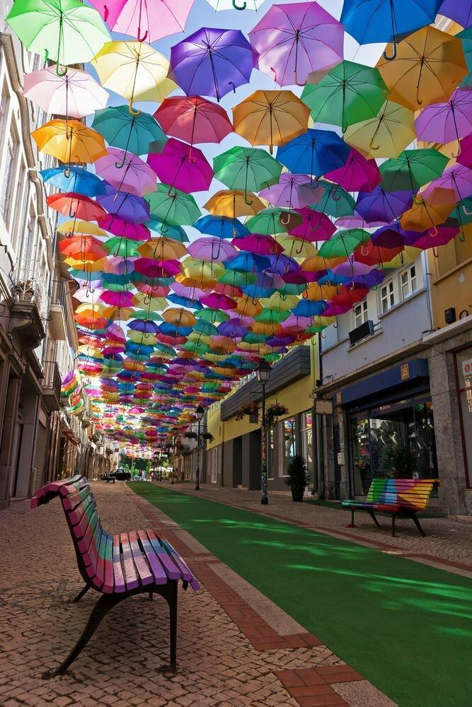 Portugal -Umbrella Street