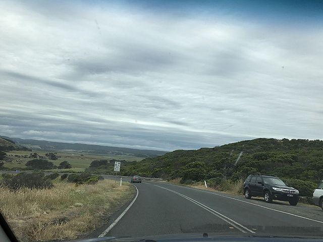 road trip Ocean road