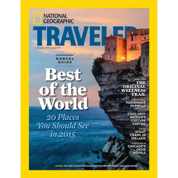 Travel Magazines: National geg.