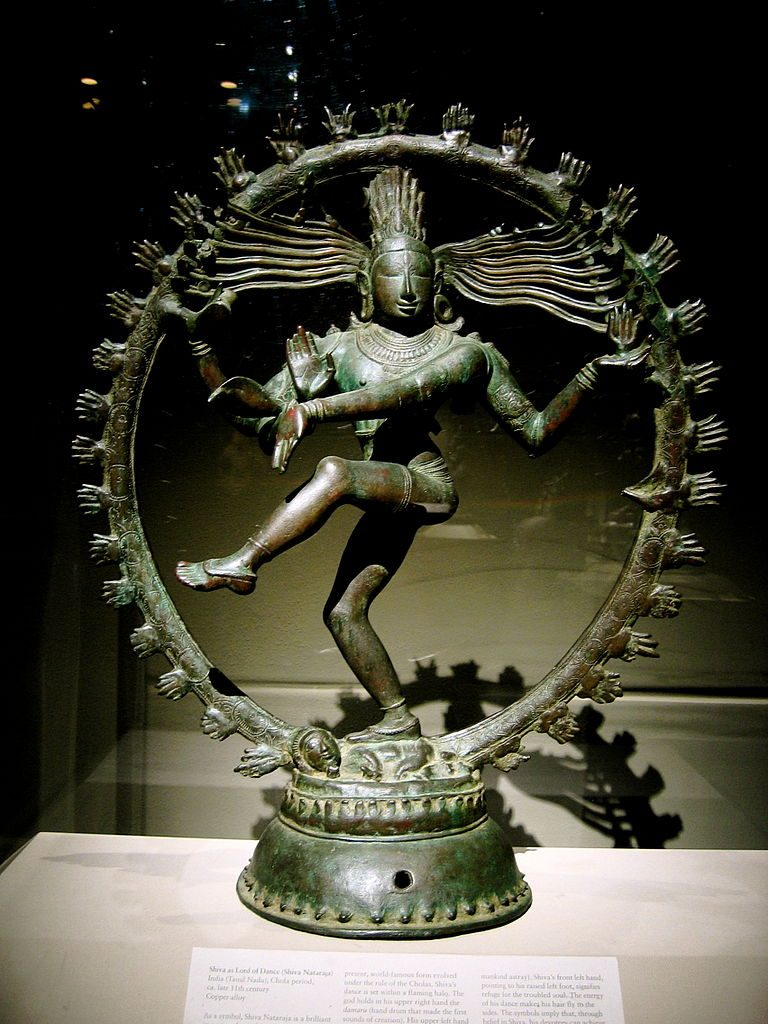 Temples Nataraja idol