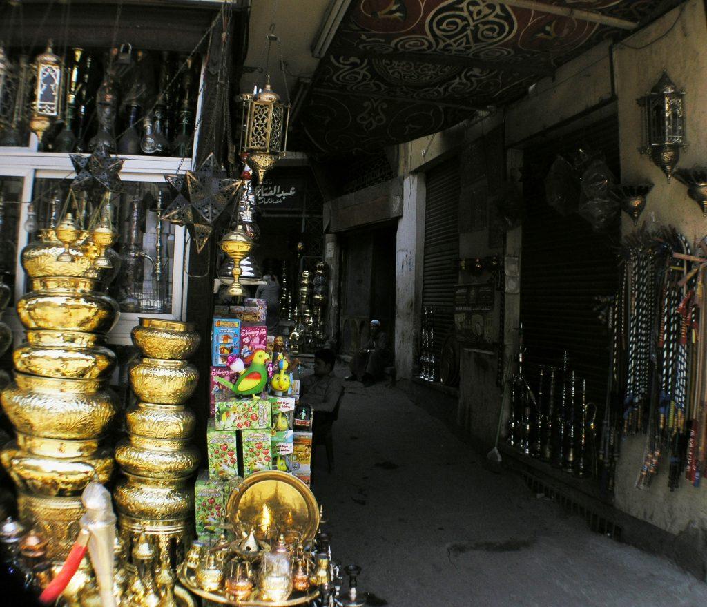 shopping at Cairo