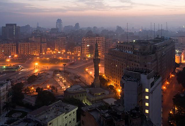 tahrir square Cairo