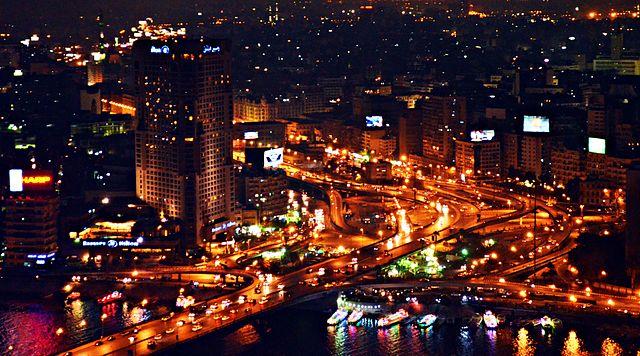 Cairo october bridge