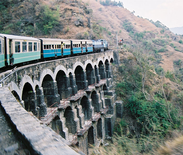 Kalka Train ride