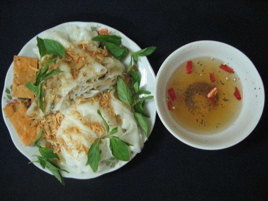 Vietnamese Food Banh Cuon