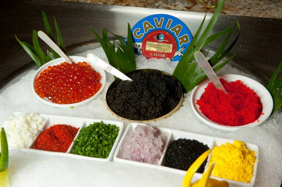 Caviar Buffet at Bellagio
