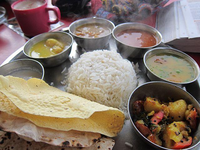Bengali Thali Meal