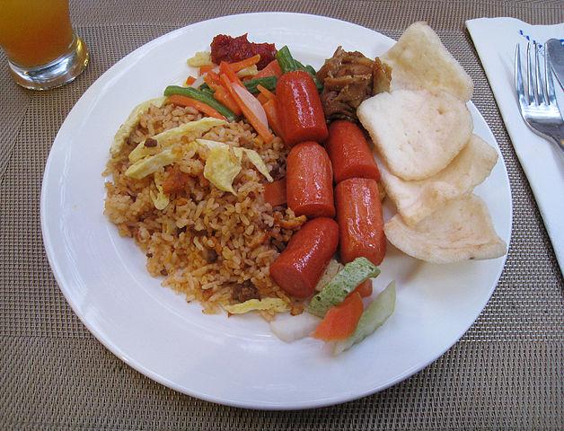 Bali Street Foods: Nasi Goreng