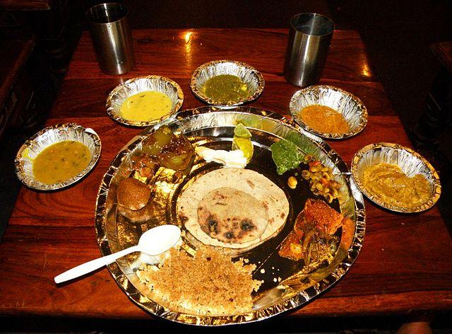 Rajasthani Thali Meal
