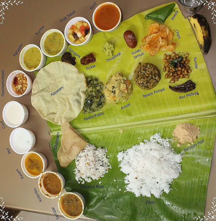 tamil nadu thali meal