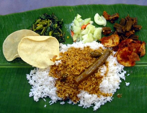 Thali meal traditional