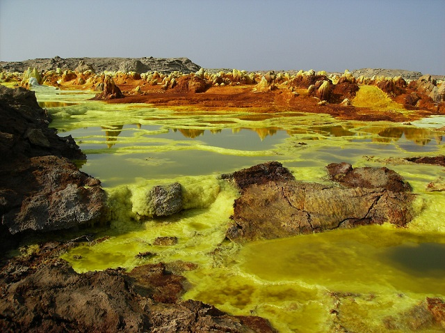 Hottest Places Dallol