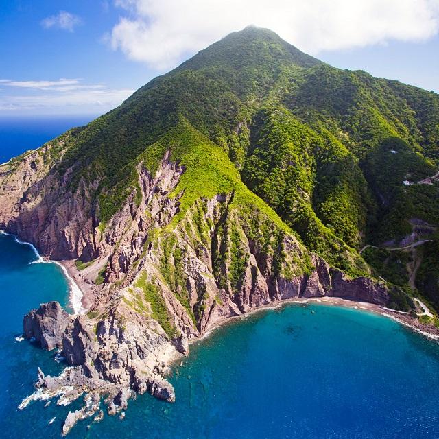 Saba Island, Caribbean