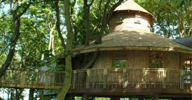 Ackergill Tower treehouse