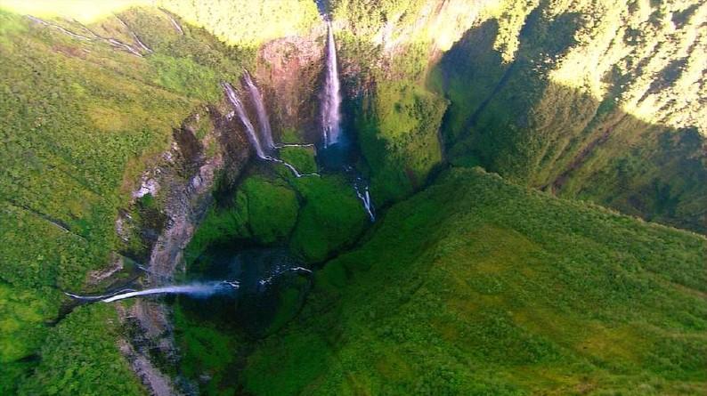 Cascades de Trou de Fer waterfalls
