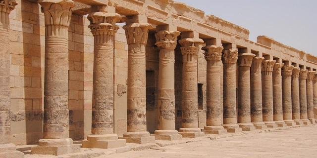 Columns of Philae