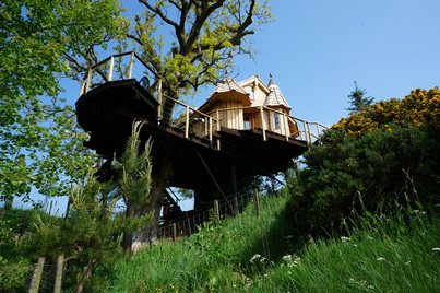 Craighead Tree Howf, tree house
