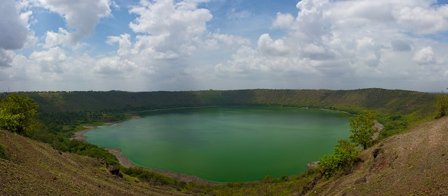 Lonar Crater, India