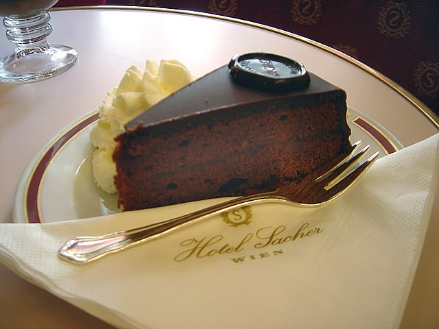 Danube River Cruise: Sachertorte