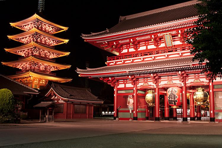 Buddhist Temples Sensoji