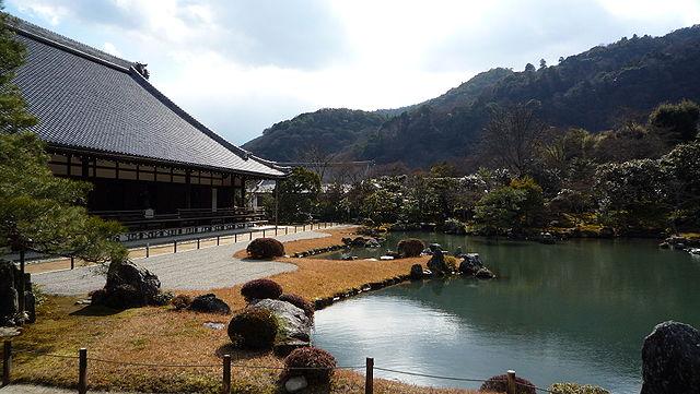 Buddhist temples Tenryu-Ji