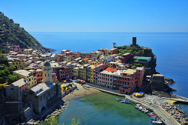 Cruise Destinaton Cinque Terre