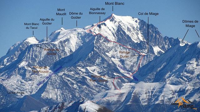 Mount Blanc walking tour