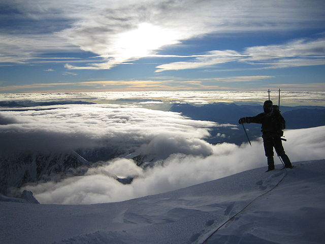 Mount Blanc summit