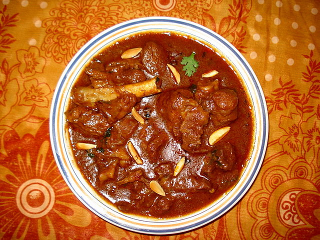 Rogan Josh Kasmiri food
