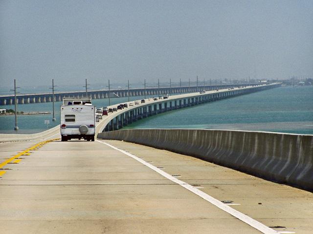 Seven miles bridge road trips