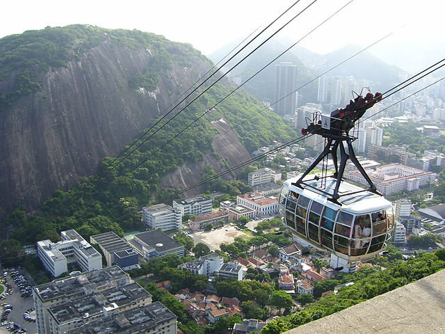Sugarloaf Mountain cable car