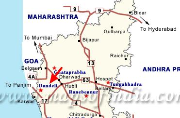 Dabdeli map
