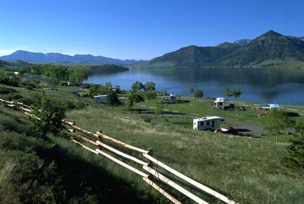 Holter lake Montana