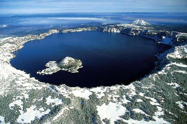 Crater Lake Clear Water