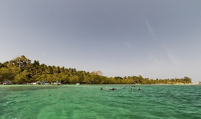 Crystal Clear Water in Havelock Island
