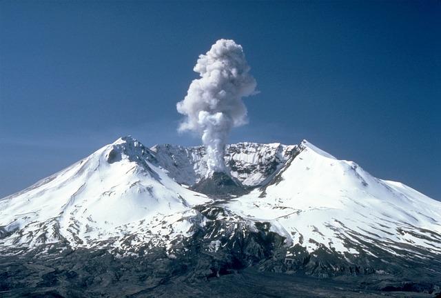 Mt. St. Helens volcano