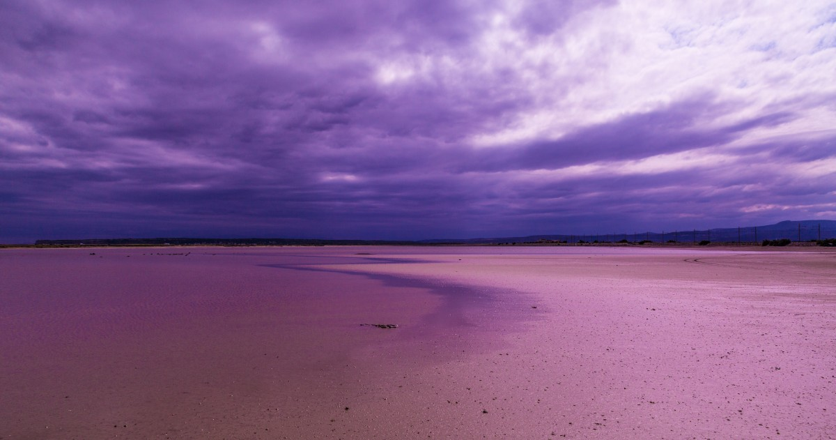 Purple Sand Beach
