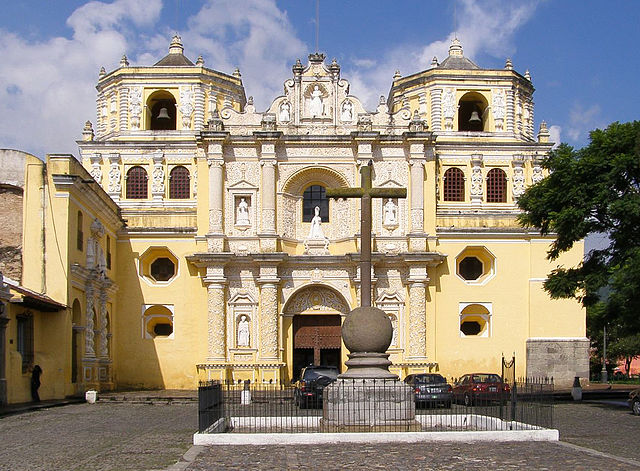 baroque La Merced church