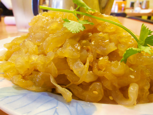 Chinese Restaurants Cold jellyfish salad