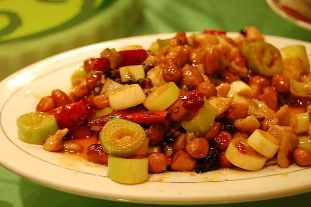 Chinese Restaurants in the U.S. Kung Pao chicken