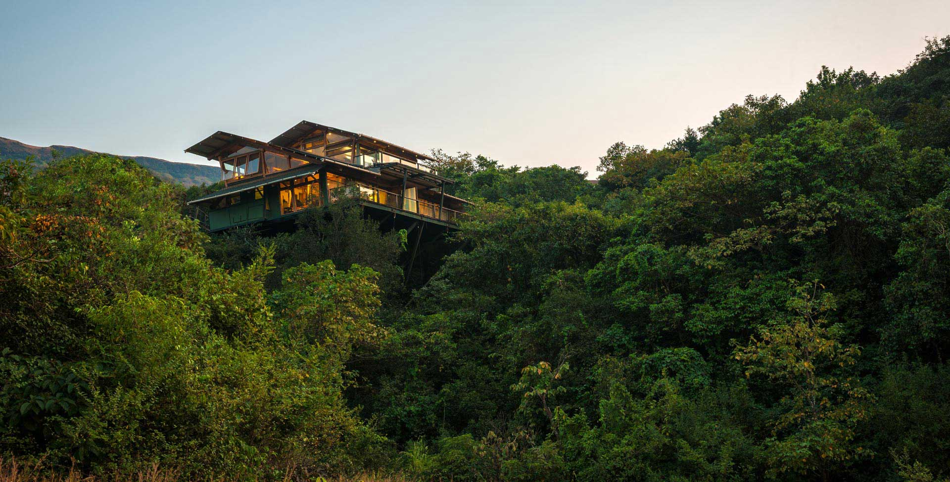 The Machan tree houses