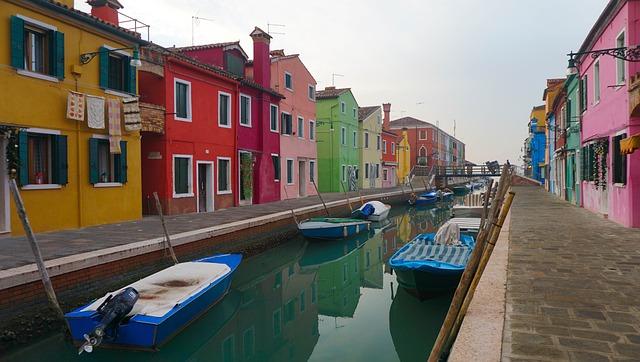 Burano, Italy, Europe