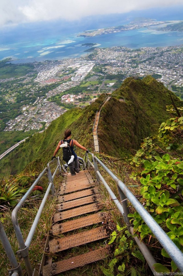 Haiku Stairs, Hawaii, United States