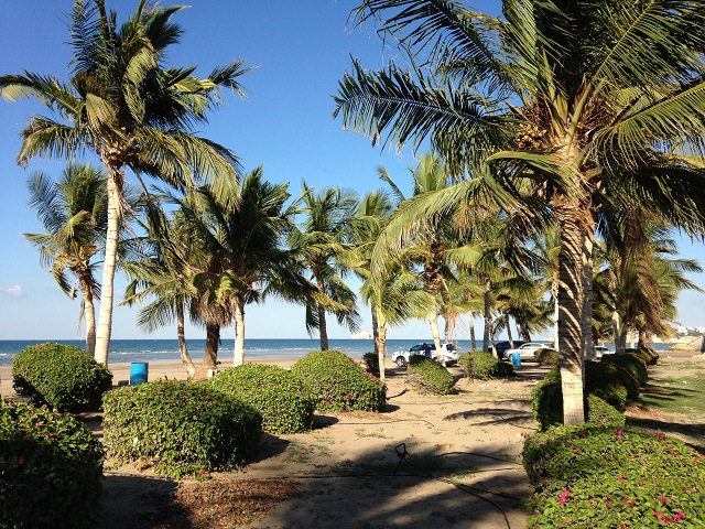 Oman Al Qurum Beach