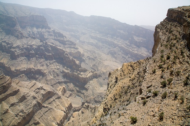 Oman Jebel Shams Mountain