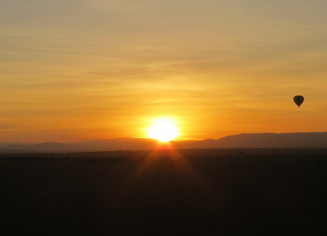 Sunrise at Masai Mara