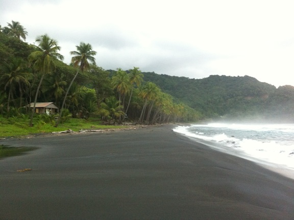 Black Sand Beaches Black Bay