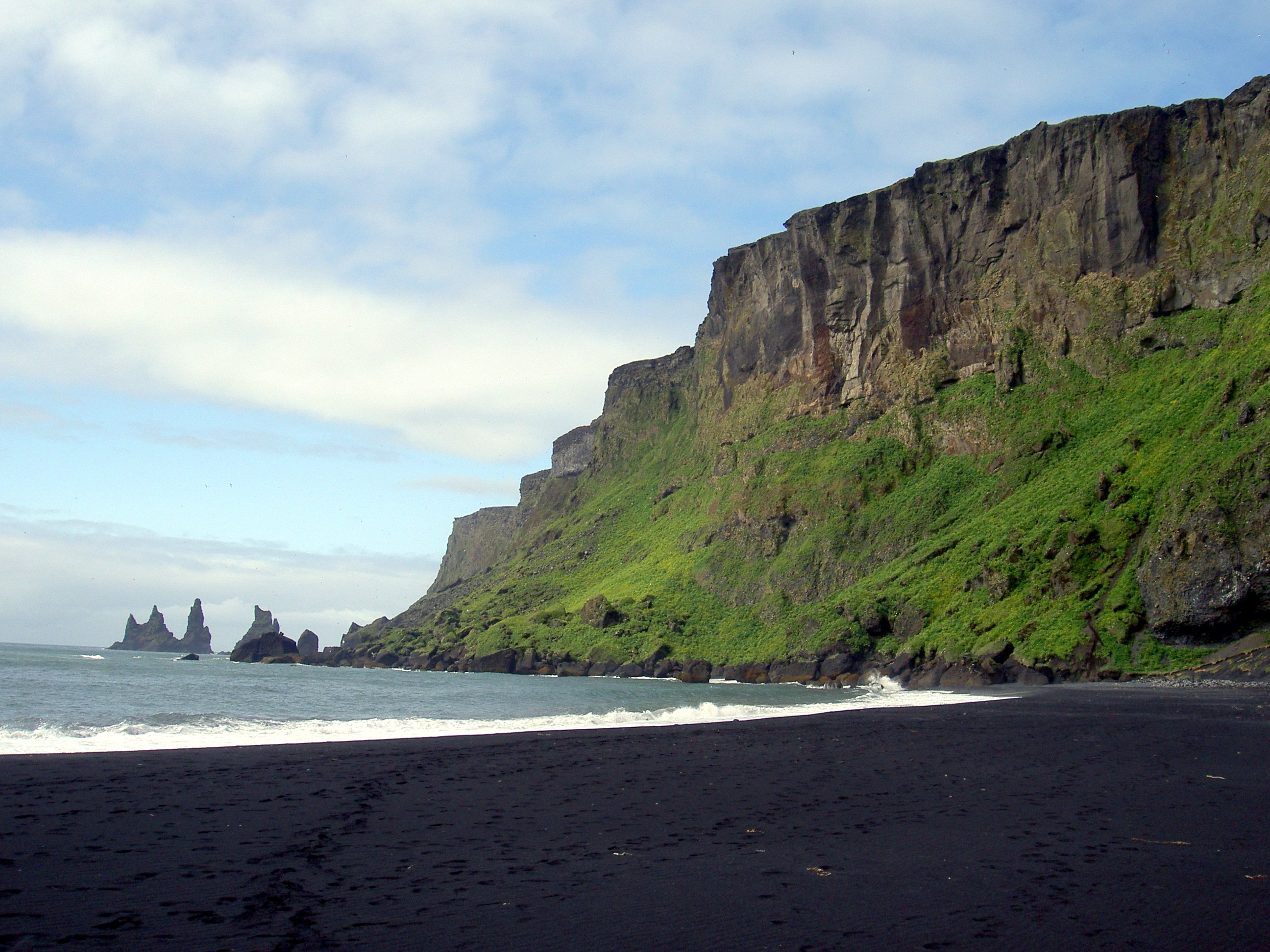 Black Sand Beaches Vik Beach