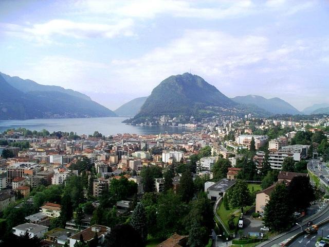 Lugano, Milan